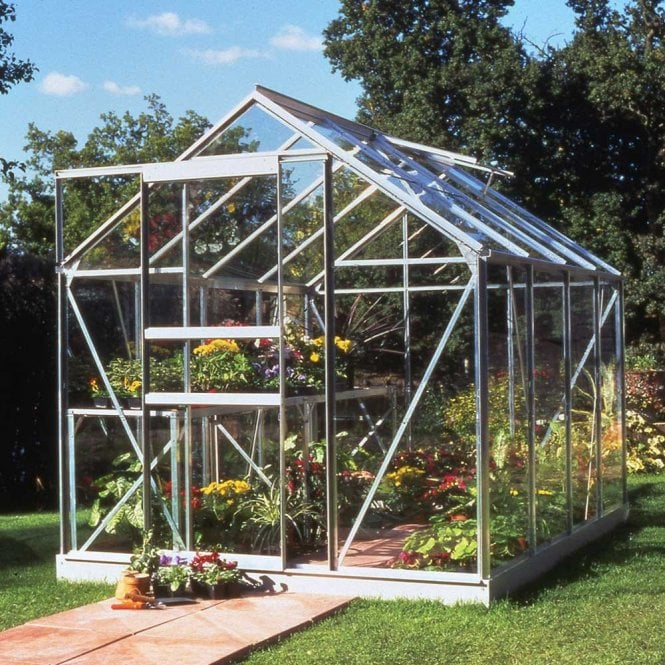 Popular 6ft X 8ft Greenhouse Silver