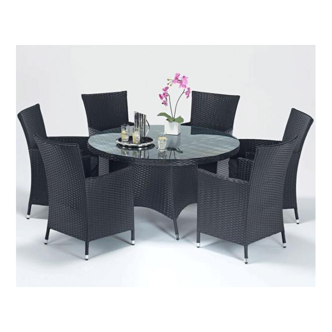Prestige Round 6 Person Dining Set