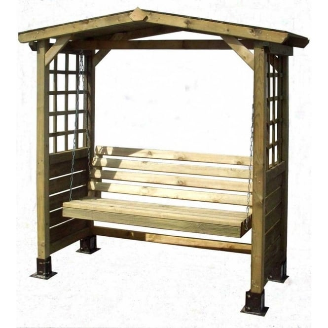 Click to view product details and reviews for Poseidon Timber Garden Swing Seat Arbour.