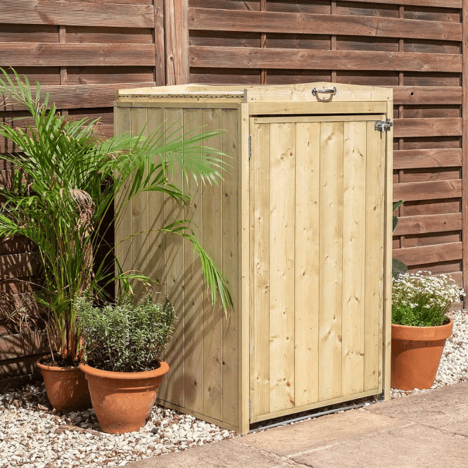 Click to view product details and reviews for Premium Pressure Treated Single Bin Store.