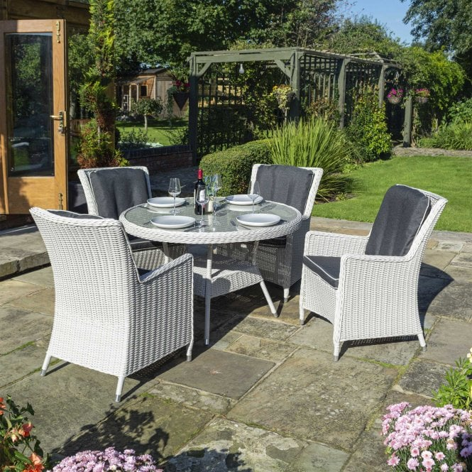 Click to view product details and reviews for Prestbury 4 Seat Dining Set.