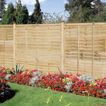 Professional Lap Fence Panel