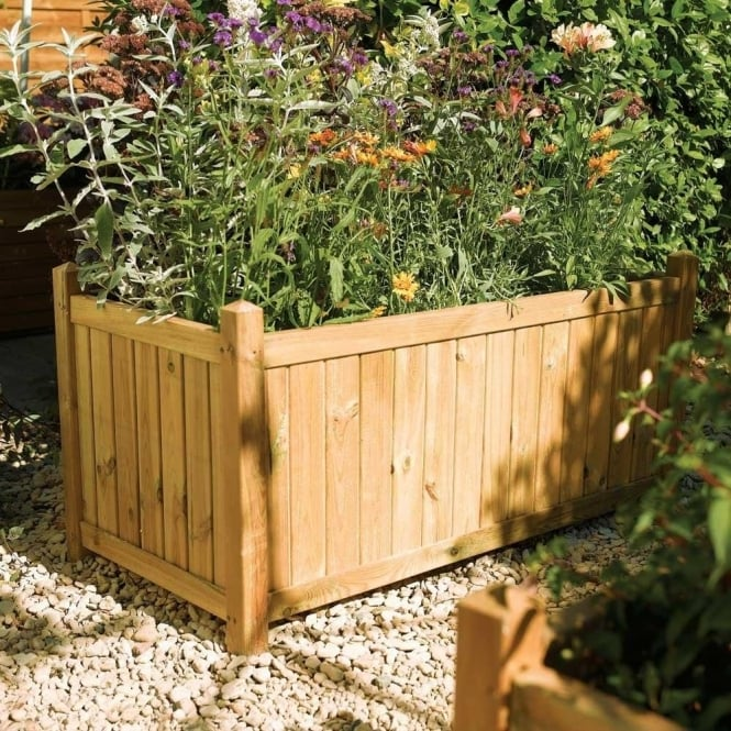 Click to view product details and reviews for Rectangular Planter Pressure Treated Timber.