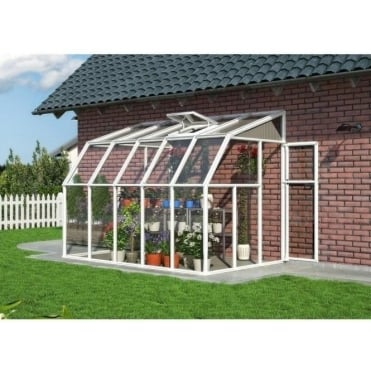 Rion Sun Room 6 x 10 Greenhouse PVC Resin Resin & Aluminium