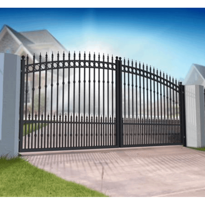 Click to view product details and reviews for Riviera Ornate Aluminium Driveway Gate.