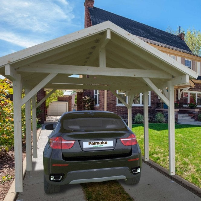 Click to view product details and reviews for Robert 117m² Carport.