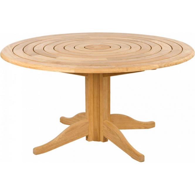 Roble Bengal Pedestal Table - 1.45m