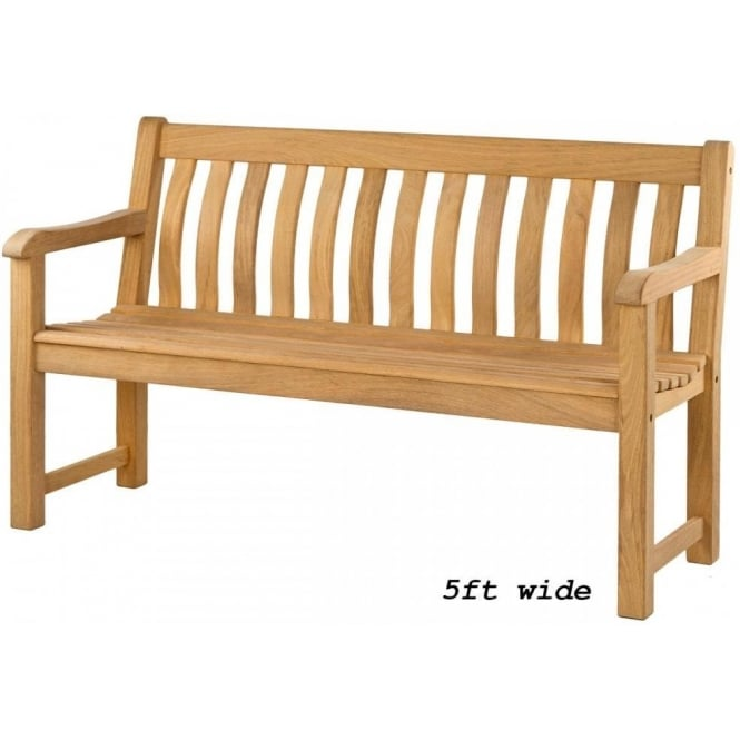 Roble St. George Bench - 2 widths available