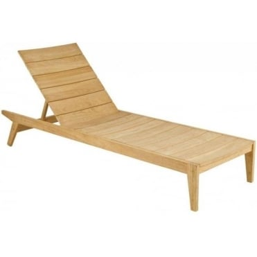 Roble Sunbed - Roble hardwood