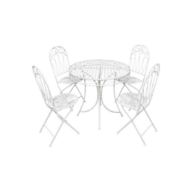 Click to view product details and reviews for Romance 4 Person Dining Set 2 Colour Options.