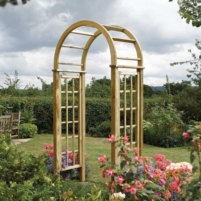 Click to view product details and reviews for Round Top Garden Arch.
