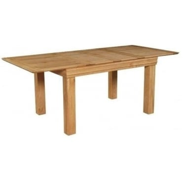 Rowlinson Breton Solid Oak Extendable Dining Table
