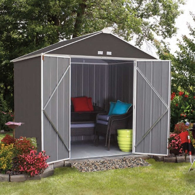 Click to view product details and reviews for Rowlinson Ezee Metal Shed 10 X 8.
