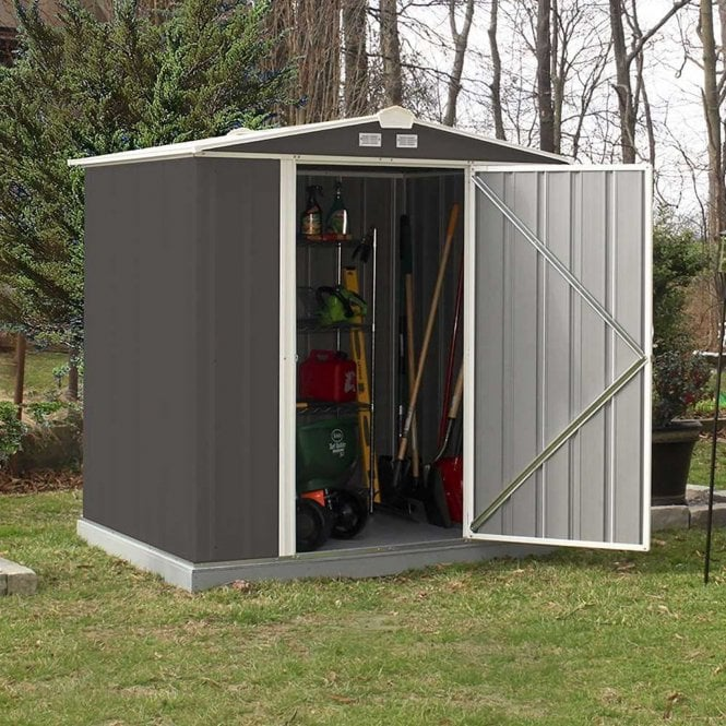 Click to view product details and reviews for Rowlinson Ezee Metal Shed 6 X 5.