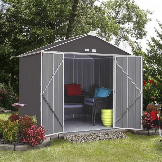 Click to view product details and reviews for Rowlinson Ezee Metal Shed 8 X 7.