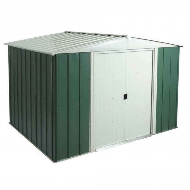 Click to view product details and reviews for Rowlinson Greenvale Metal Apex Shed 10 X 8.