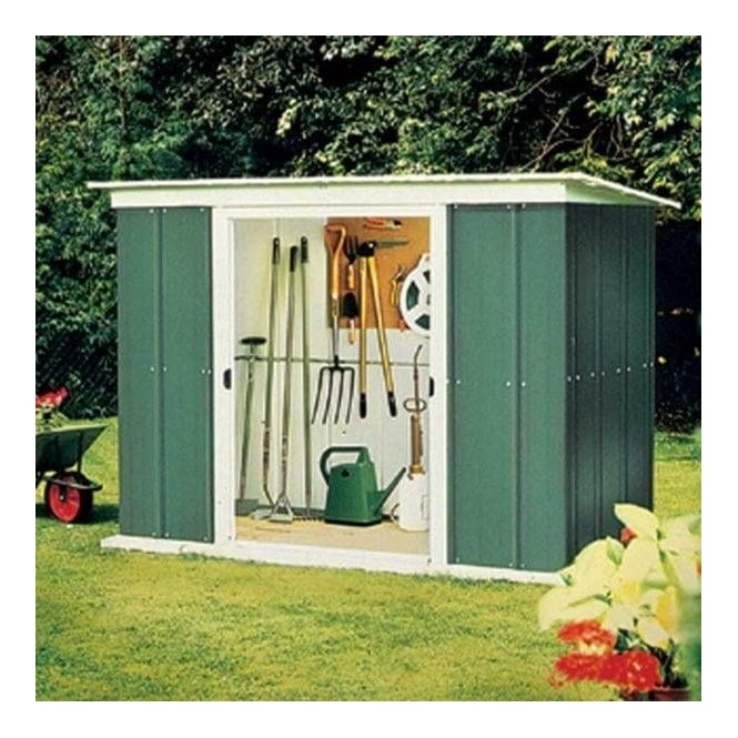 Click to view product details and reviews for Rowlinson Greenvale Metal Pent Shed 8 X 4.