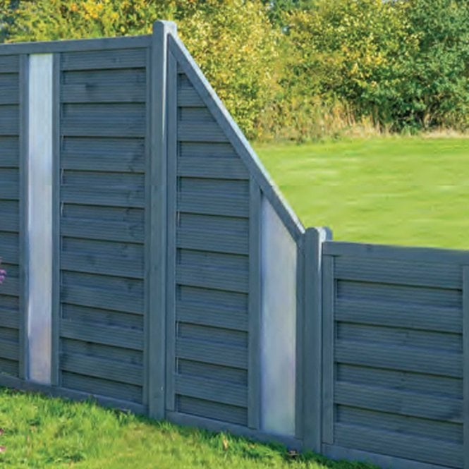 Click to view product details and reviews for Rowlinson Palermo Angled Opaque Infill Screen.