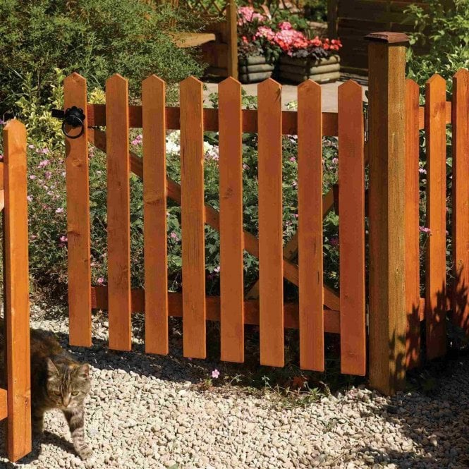 Rowlinson Picket Gate Dip Treated
