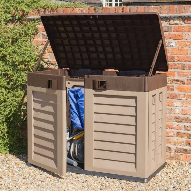Click to view product details and reviews for Rowlinson Plastic Garden Store Mocha.