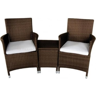 Royalcraft Cannes 3 Piece Companion Set – Black or Brown
