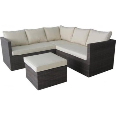 Royalcraft Cannes 4 Piece Corner Sofa Set