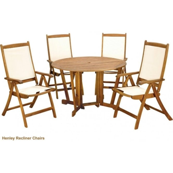 Click to view product details and reviews for Royalcraft Henley Round Gateleg Table With 4 Henley Chairs.