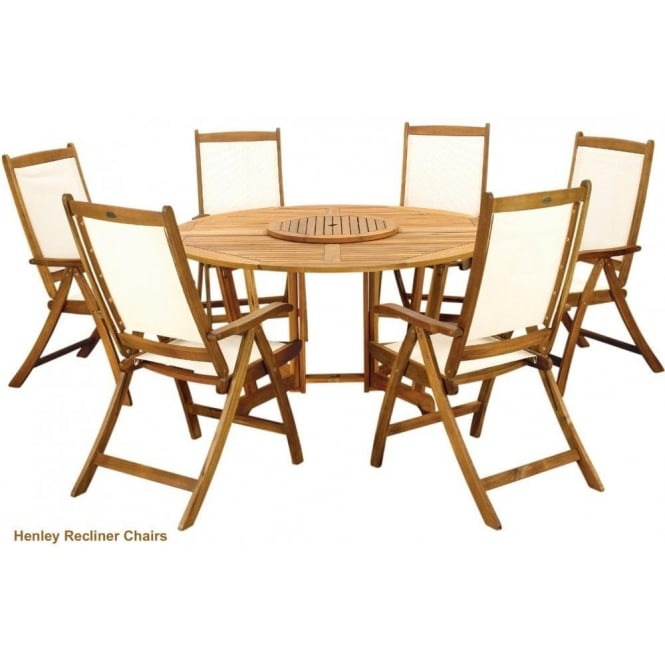 Click to view product details and reviews for Royalcraft Henley Round Gateleg Table With 6 Henley Chairs.