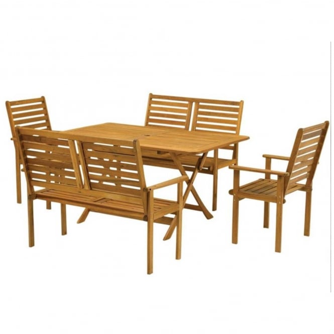 Click to view product details and reviews for Royalcraft Napoli Bench Dining Set.