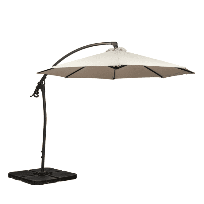Click to view product details and reviews for Royalcraft Rotating Deluxe Cantilever Parasol 2 Colour Options.