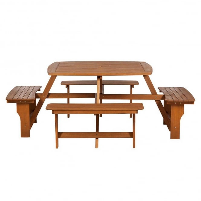 Click to view product details and reviews for Royalcraft Sacramento 8 Seater Picnic Bench.