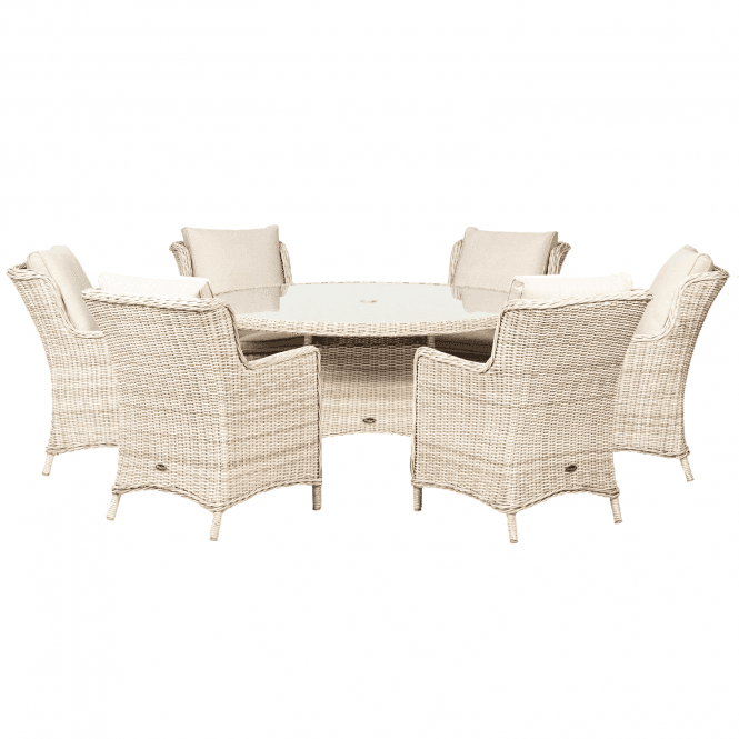 Click to view product details and reviews for Royalcraft Seychelles 6 Seater Round Comfort Dining Set.