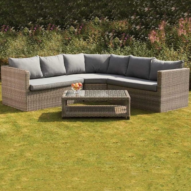 Click to view product details and reviews for Royalcraft Wentworth 4 Piece Corner Lounging Set.