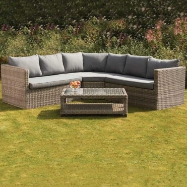 Royalcraft Wentworth 4 Piece Corner Lounging Set