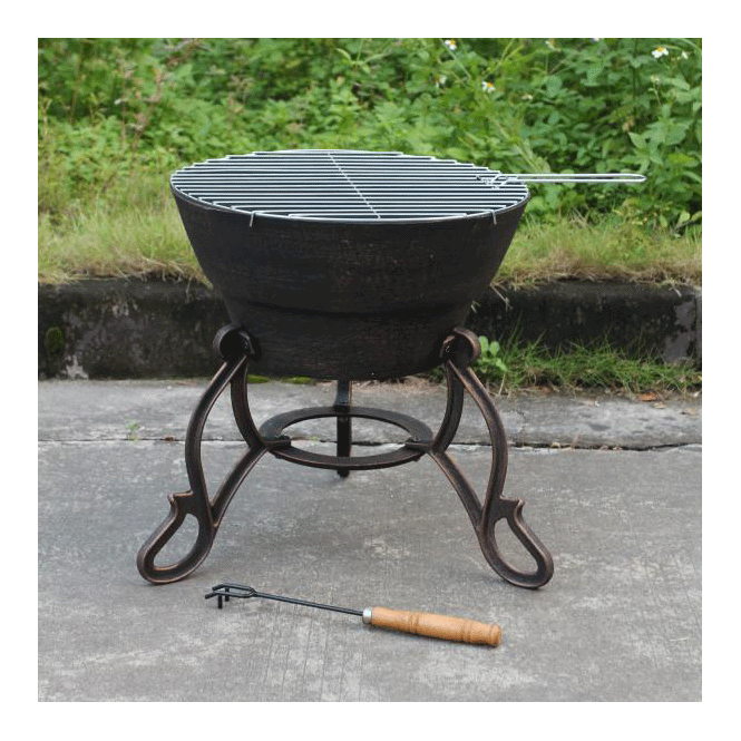 Click to view product details and reviews for Safir Cast Iron Fire Pit.