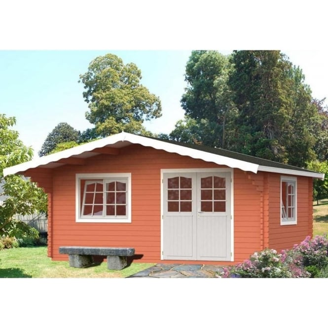 Click to view product details and reviews for Sally 191m² Log Cabin With Double Glazing.