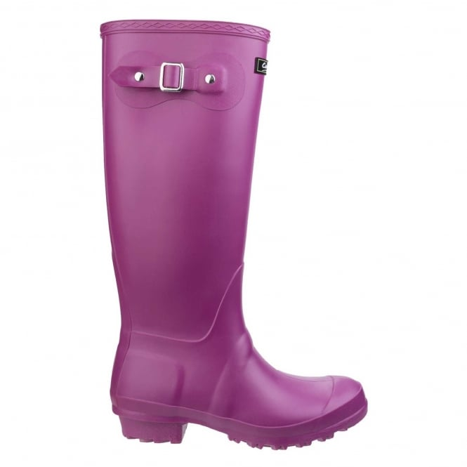 Click to view product details and reviews for Sandringham Wellington Boots In Berry.