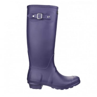 Sandringham Wellington Boots in Purple