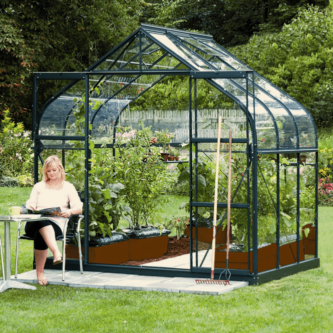 Click to view product details and reviews for Saturn 5000 8 X 6 Greenhouse Green.
