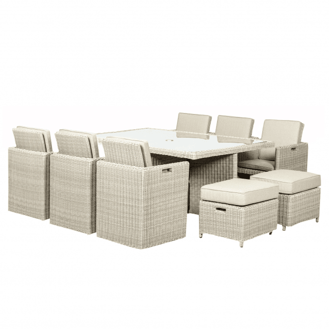 Click to view product details and reviews for Seychelles 10 Seater Cube Set.