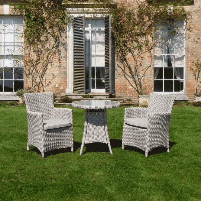 Click to view product details and reviews for Seychelles 2 Seater Round Carver Bistro Set.