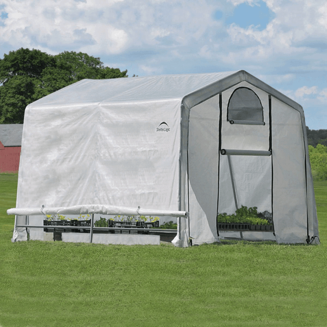 Click to view product details and reviews for Shelter Logic 10 X 10 Greenhouse In A Box.