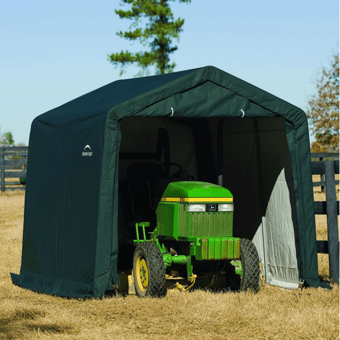 Click to view product details and reviews for Shelter Logic 10 X 10 Shed In A Box.