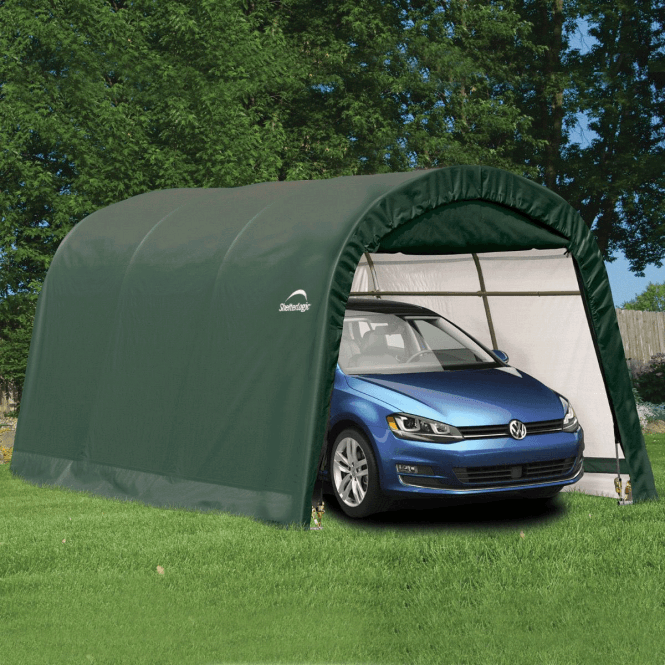 Click to view product details and reviews for Shelter Logic 10 X 15 Round Top Auto Shelter.