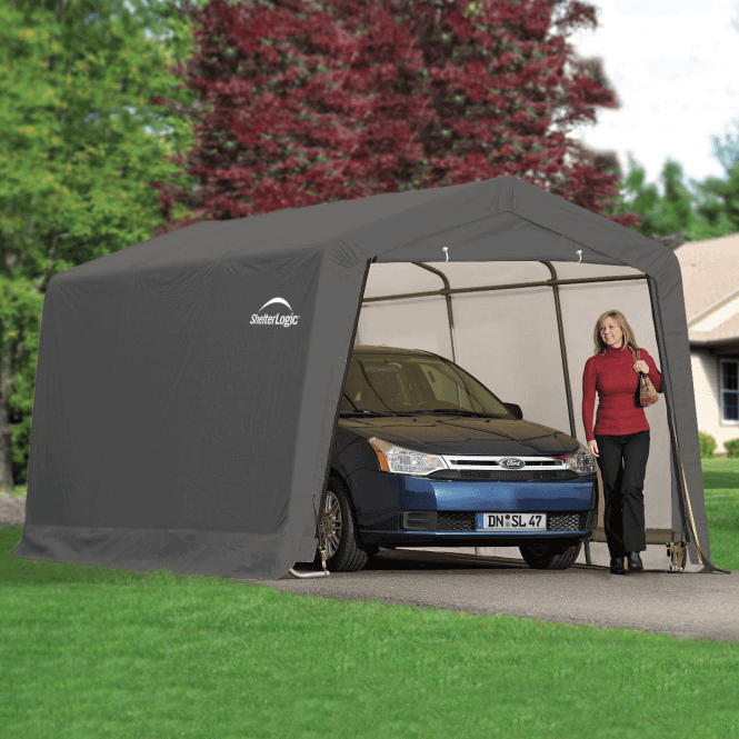Click to view product details and reviews for Shelter Logic 10 X 20 Peak Style Auto Shelter.