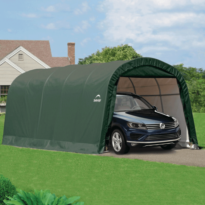 Click to view product details and reviews for Shelter Logic 10 X 20 Round Top Auto Shelter.