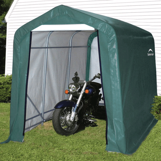 Click to view product details and reviews for Shelter Logic 6 X 10 Shed In A Box.