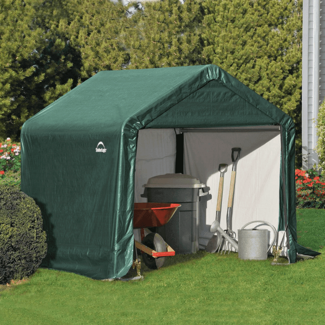 Click to view product details and reviews for Shelter Logic 6 X 6 Shed In A Box.