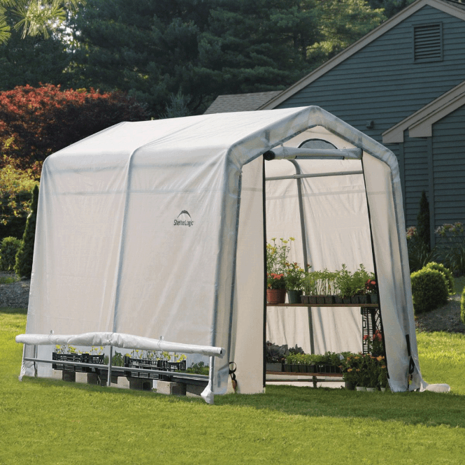 Click to view product details and reviews for Shelter Logic 6 X 8 Greenhouse In A Box.
