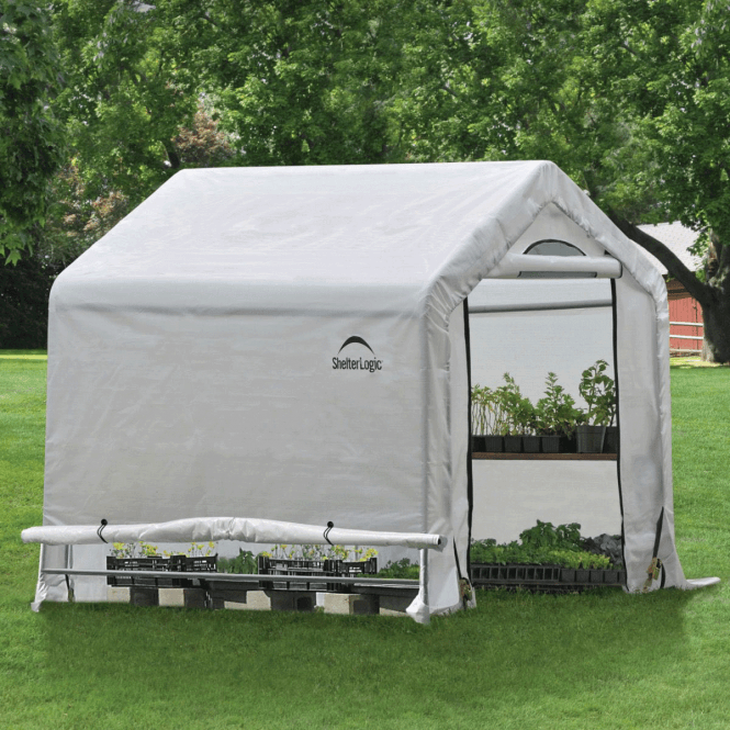 Click to view product details and reviews for Shelter Logic 6 X 6 Greenhouse In A Box.